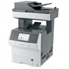 Multifunctionala Lexmark X748DE, Laser color A4, Duplex, Fax