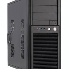 Carcasa Chieftec Smart Series SH-03B-OP, Midi Tower, neagra, fara sursa - Carcasa PC
