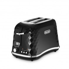 Prajitor de paine DeLonghi Brillante CTJ 2003.BK, 900 W, Negru - Toaster