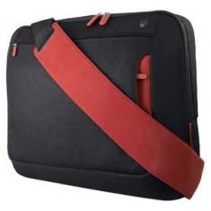 Belkin Geanta notebook Belkin 17 inch, Black / red - Geanta laptop