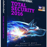 BitDefender Licenta antivirus Total Security 2016, nou, 1 an, 1 calculator, retail