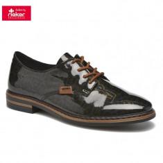 Pantof dama piele sintetica RIEKER 50614-90 leo (Marime: 40)