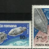 Apollo 9 si 10, 1969 (702) - Timbre Romania, Nestampilat