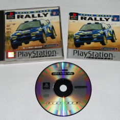 Joc consola Sony Playstation 1 PS1 PS One - Colin McRae Rally, Curse auto-moto, Toate varstele, Single player