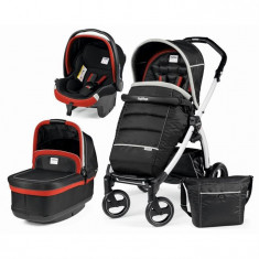 Carucior 3 In1 Book Plus S Black&White Pop-Up Synergy Peg Perego