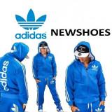Trening Adidas Barbati scris mare GROS - Trening barbati Adidas, Marime: S, M, L, XL, XXL, Culoare: Din imagine, Bumbac