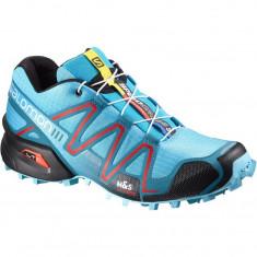 Salomon Speedcross 3 marimea 38 NOU - Adidasi dama Salomon, Culoare: Albastru