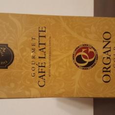 Organo Gold - Café Latte, Gourmet, cu Ganoderma Lucidum (Reishi)