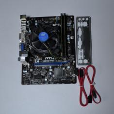 KIT LGA 1150 Msi H81m-P33 + Procesor intel quad core i5 4460 + 16GB DDR3 - Placa de Baza Msi, Pentru INTEL, Contine procesor, MicroATX