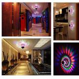 Lampa interioara, de perete, decorativa, cu LED-uri
