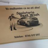 Covorase auto hartie (unica folosinta car detailing)