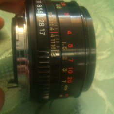 Obiectiv Vivitar 50mm 1:1.7 - Teleconvertor Obiectiv Foto