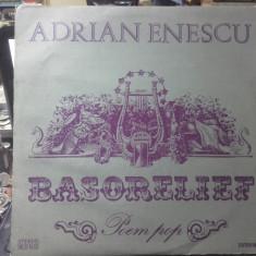 Vinil - Adrian Enescu Basorelief rar - Muzica Jazz electrecord