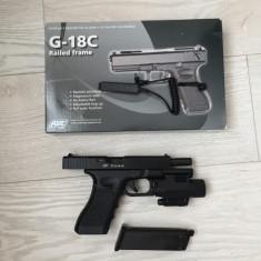Arma Pistol Airsoft KWA ASG Glock 18C