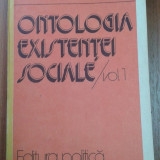 8919 GEORG LUKACS - ONTOLOGIA EXISTENTEI SOCIALE VOL. 1