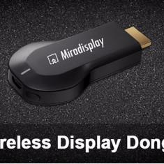 Miradisplay 2.4G EZCast Miracast TV Dongle DLNA AirPlay pentru Smart TV - Mini PC
