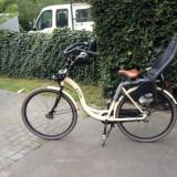 Bicicleta mamei. Cu scaunele pt 2 copilasi. - Bicicleta Dama, 26 inch, 24 inch, Numar viteze: 7