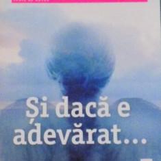 SI DACA E ADEVARAT de MARC LEVY, 2015