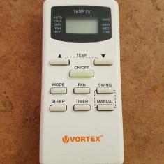 Telecomanda aer conditionat VORTEX ORIGINALA, IMPECABILA ( AC ),