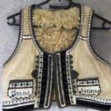 Ilic / Pieptar / cojocel din blana de oaie fara maneci- Marginimea Sibiului