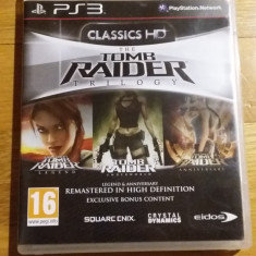 PS3 The Tomb Raider Trilogy - joc original by WADDER - Jocuri PS3 Square Enix, Actiune, 16+, Single player