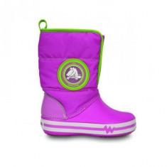 Cizme pentru copii Crocs Light Gust Boot Party Pink (CRC13900-VAR ) - Cizme copii Crocs, Marime: 25.5, 27.5, Culoare: Roz
