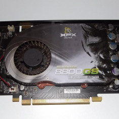 Placa video 384 MB / 192 Bit / XFX 8800 GS / DDR3 / Dual DVI / SLI Ready/ Gaming - Placa video PC XFX, PCI Express, nVidia