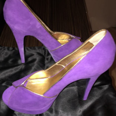 Pantofi - Pantof dama Yves Saint Laurent, Marime: 40, Culoare: Mov