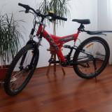 Bicicleta Enduro - Bicicleta de oras, 18 inch, 24 inch, Numar viteze: 8