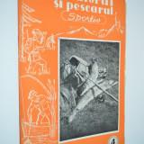 Revista Vanatorul si Pescarul Sportiv - Aprilie / 1960 - Carte Hobby Sport