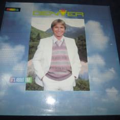 John Denver – It's About Time _ vinyl(LP, album) Germania - Muzica Country rca records, VINIL