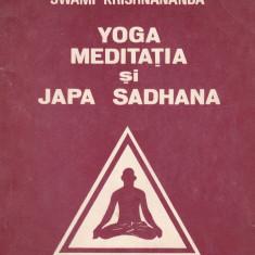 Swami Krishnananda - Yoga, meditatia si Japa Sadhana - 667178 - Carti Samanism