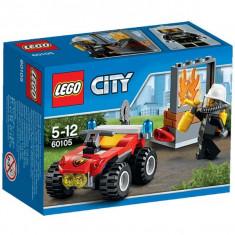 Atv de pompieri 60105 Lego City - Jocuri Seturi constructie