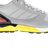 Adidasi Adidas Zx Flux Weave marimea 43 1/3 - Adidasi barbati, Culoare: Gri, Textil