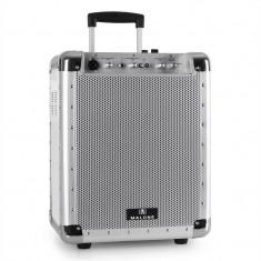 Sistem Audio Portabil Malone PAS1 Streetlocker USB, SD ALB - Echipament karaoke
