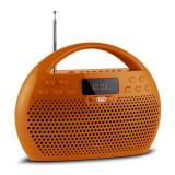 Trevi KB 308 BT Radio Digital Boombox Bluetooth portocaliu microSD USB - Combina audio