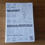 MANUALUL ARHITECTULUI  editia 37 NEUFERT 2004
