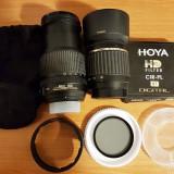 Obiectiv Nikon 18-105mm + Filtru Polarizare HOYA + Obiectiv Tamron 55-200mm