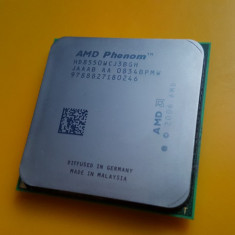 Procesor Triple Core AMD Phenom X3 8550, 2, 20Ghz, Socket AM2-AM2+ - Procesor PC AMD, Numar nuclee: 3, 2.0GHz - 2.4GHz
