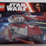 Lego Star Wars 75135 Obi-Wan's Jedi Interceptor Sigilat 215piese robot nava