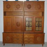Biblioteca modulara, de sufragerie; Dulap cu raft; Comoda; Vitrina