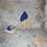 Sandale elegante Aldo, toc 15 cm. Impecabile. - Sandale dama Aldo, Marime: 37, Culoare: Nude