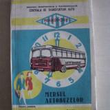 MERSUL AUTOBUZELOR 1976-1977, HARGHITA SI MARAMURES - Carti Transporturi