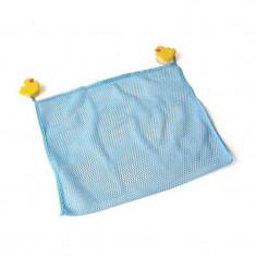 Saculet pentru jucariile de baie Reer, 2 ventuze, 43 x 36 cm - Prosop baie copii