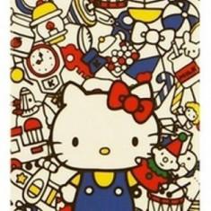 Husa tip capac plastic Hello Kitty model jucarii pentru tele