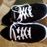 Vand tenisi adidas purtați de 2 ori nr 38 - Tenisi dama Adidas, Marime: 38 2/3, Culoare: Negru