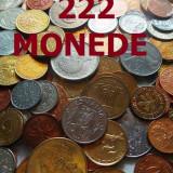 LICITAŢIE 222 MONEDE DIVERSE STRĂINE şi ROMÂNEŞTI + BONUS!!!