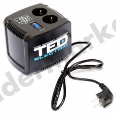 Stabilizator de tensiune TED Electric 500VA Servomotor - UPS