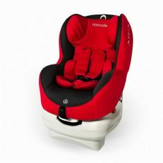 Scaun auto 0-18 kg cu Isofix Mira-Fix Rosu Coccolle - Scaun auto bebelusi grupa 0+ (0-13 kg)