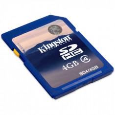Memorie Kingstone SDHC 4GB Clasa 4 - Secure digital (SD) card